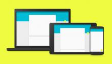 Google Material Designのファーストインプレッション