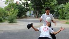 フリースタイルフットボール日本チャンピオン パノラマ動画コンテンツ